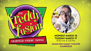 Freddy Fusion Science Magic Show
