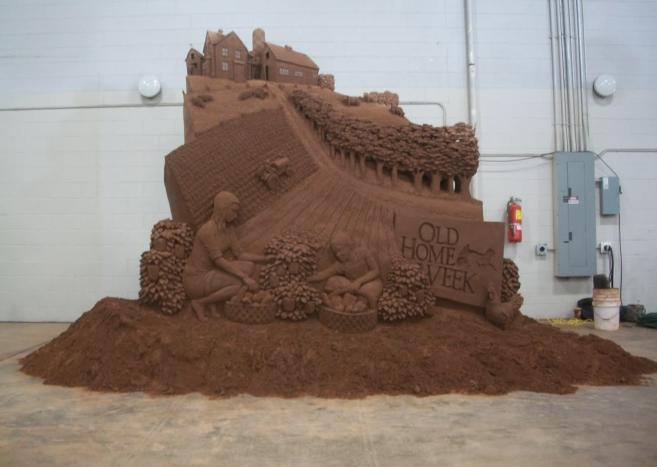 Sand Sculpture artists